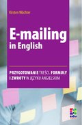 języki obce: E-mailing in English - ebook