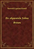 Do obywatela Johna Brown - ebook
